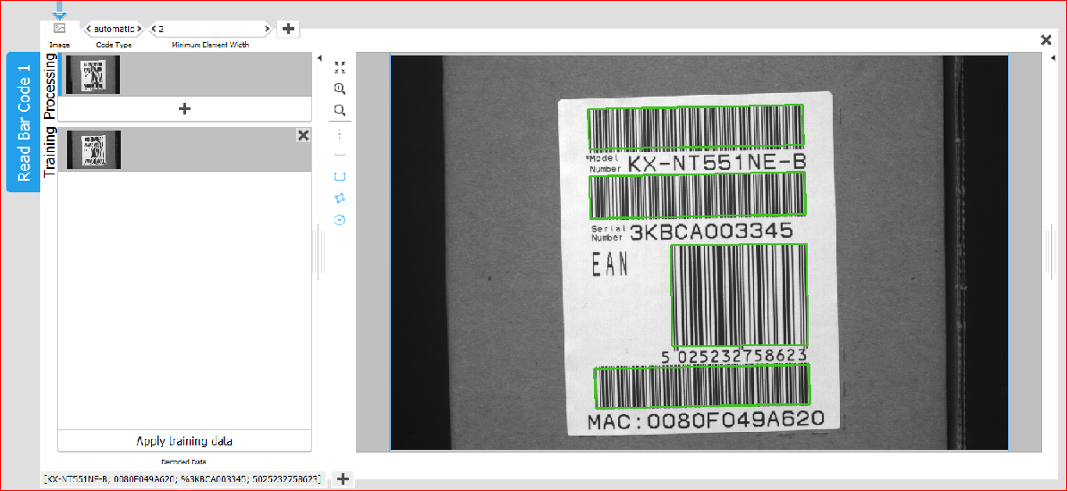 Barcode and OCR made easy with MERLIC - Multipix Imaging