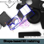 Shape based 3D matching