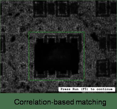 HALCON offers unique matching techniques for 2D images
